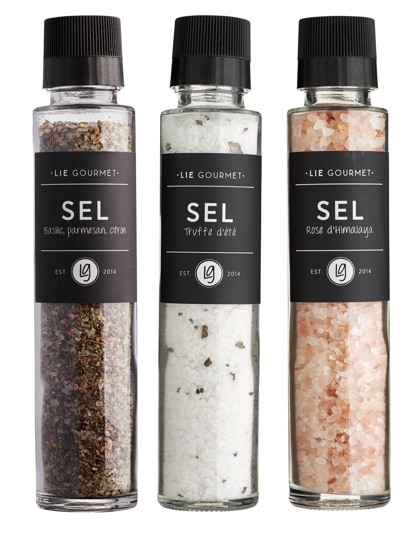 Lie Gourmet zout set