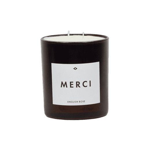 Candle - Merci - English Rose