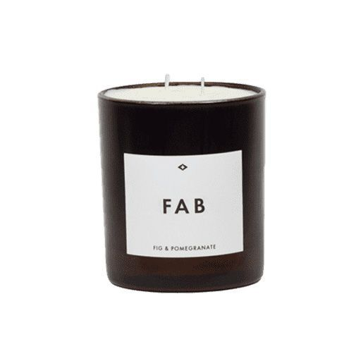 Candle - Fab - Fig & Pomegranite