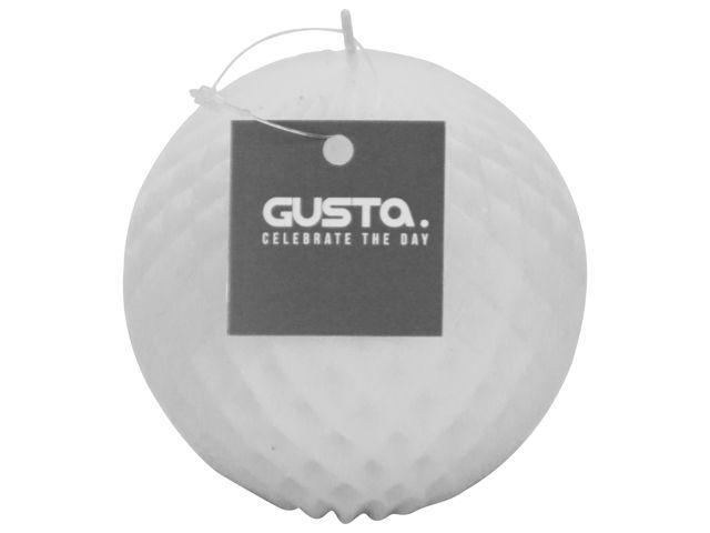 Gusta Balkaars wit �9,2xH8,7cm