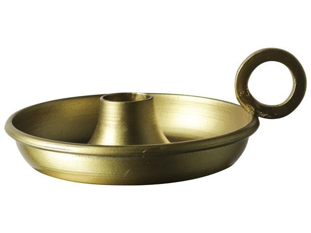 Gusta Dinerkaarshouder 14x11,5cm Goud