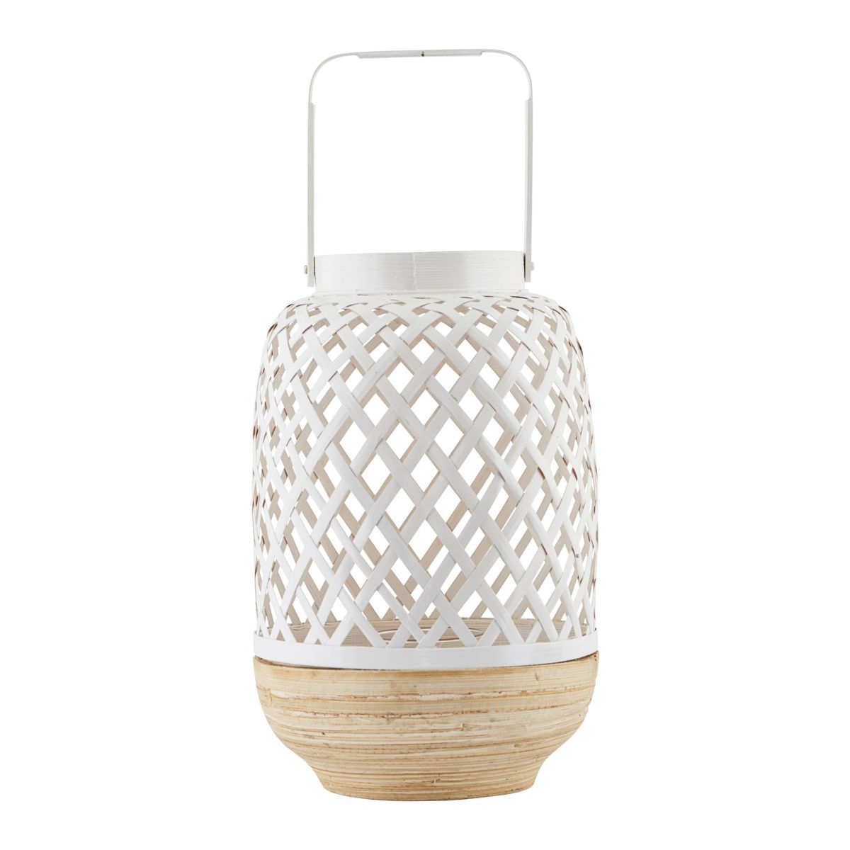 house doctor lantaarn breeze wit lantaarns leeff. Black Bedroom Furniture Sets. Home Design Ideas