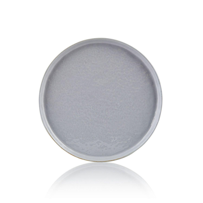 Ontbijtbord Solid blauw/grijs