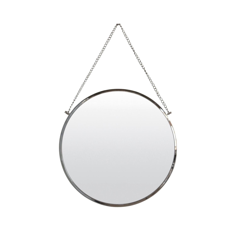 Spiegel Bolina zilver
