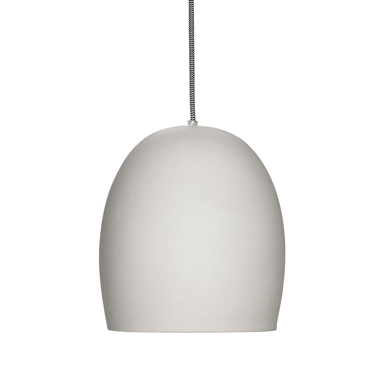 Lamp keramiek grijs