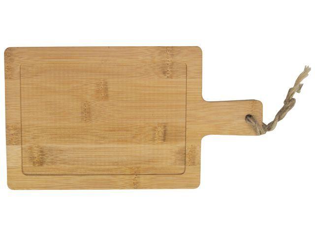 Gusta Multi Serveer Paddle Bamboe 14x25cm