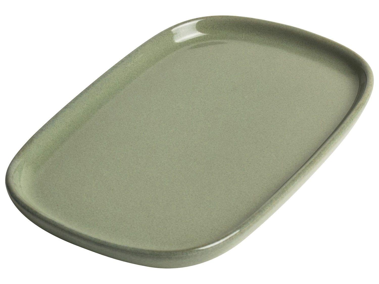 Gusta Serveerbordje 15,9x10,9cm Groen