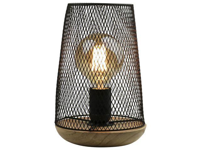 Gusta Tafellamp LED 14x22,5cm Zwart