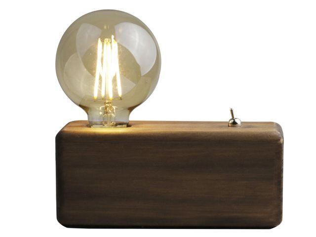 Gusta Tafellamp LED 20x9x8,5cm Hout