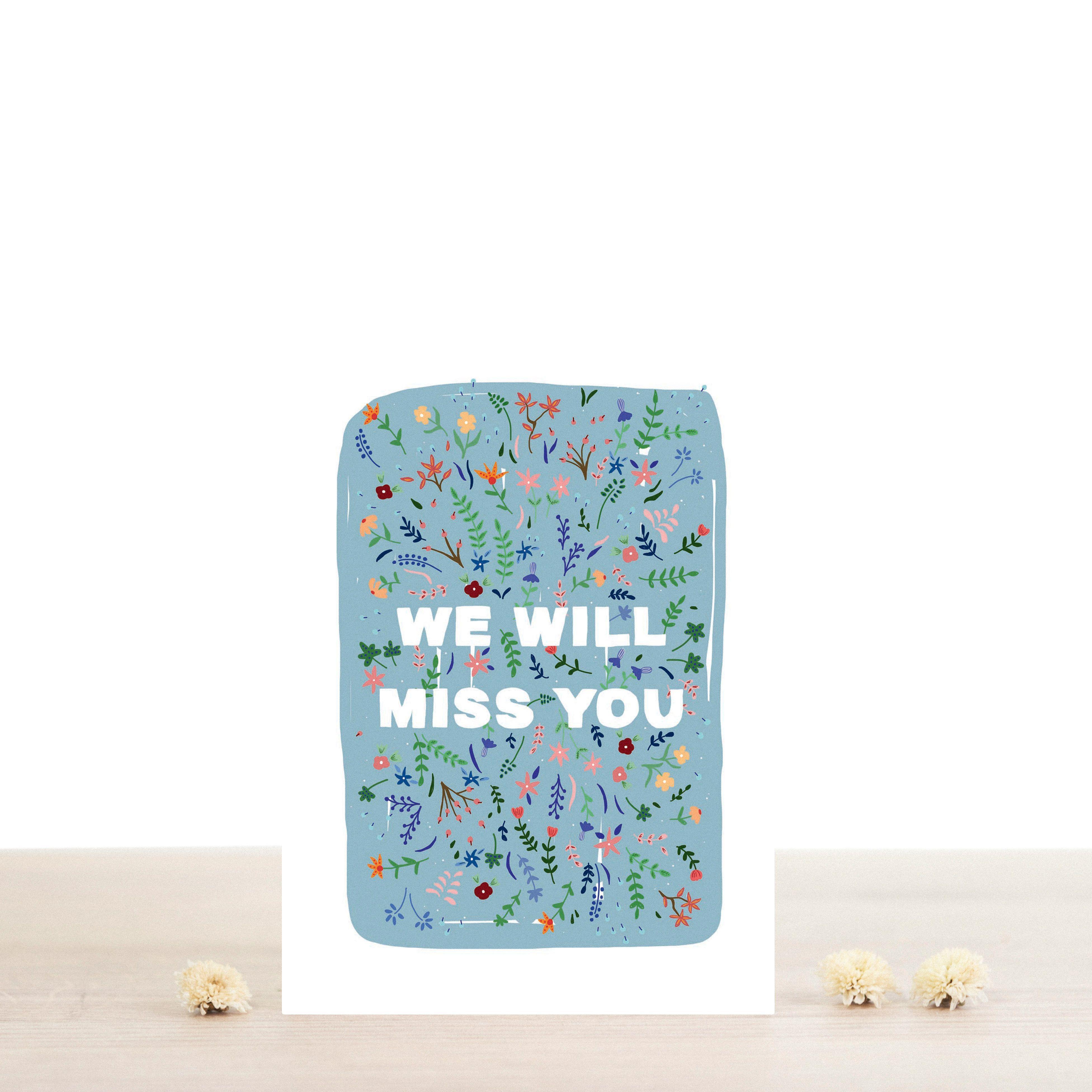 Atelier Bobbie Greeting Card - Violette