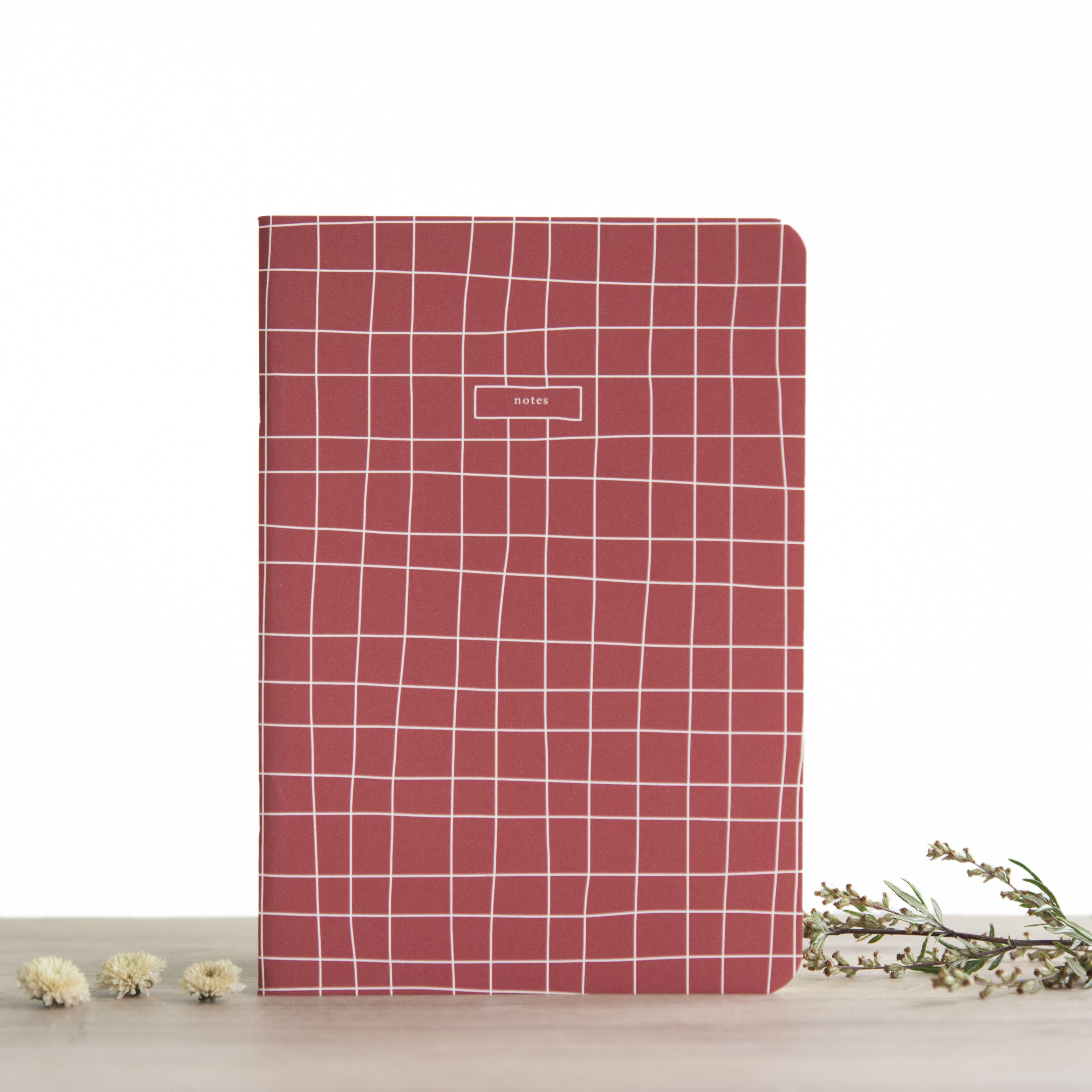 Atelier Bobbie A5 Notebook - Anas - Blank Pa