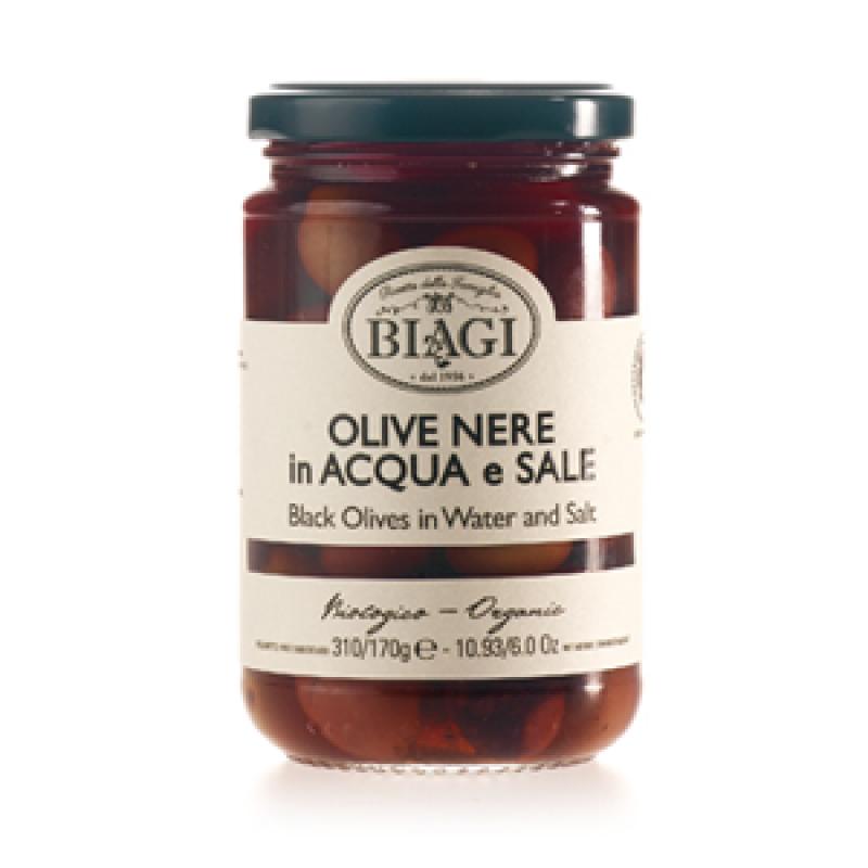 Biologische italiaanse zwarte olijven van biagiwij kunnen er geen genoeg van krijgen: deze heerlijke vlezige ...