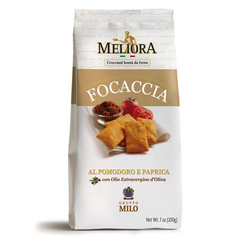 Foodelicious Focaccia tomato paprika 200 gram