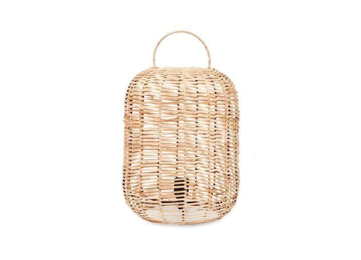 Nkuku Noko Wicker Lamp Natural Small