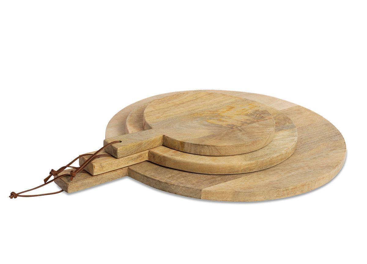 Nkuku Mango Wood Pizza Board Mango Wood Smal