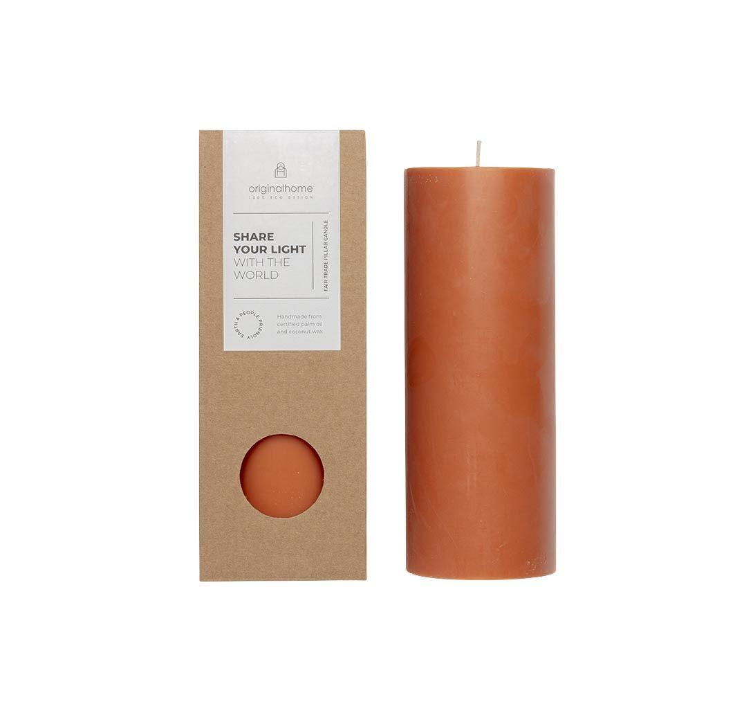 Original Home Pillar Candle Terra