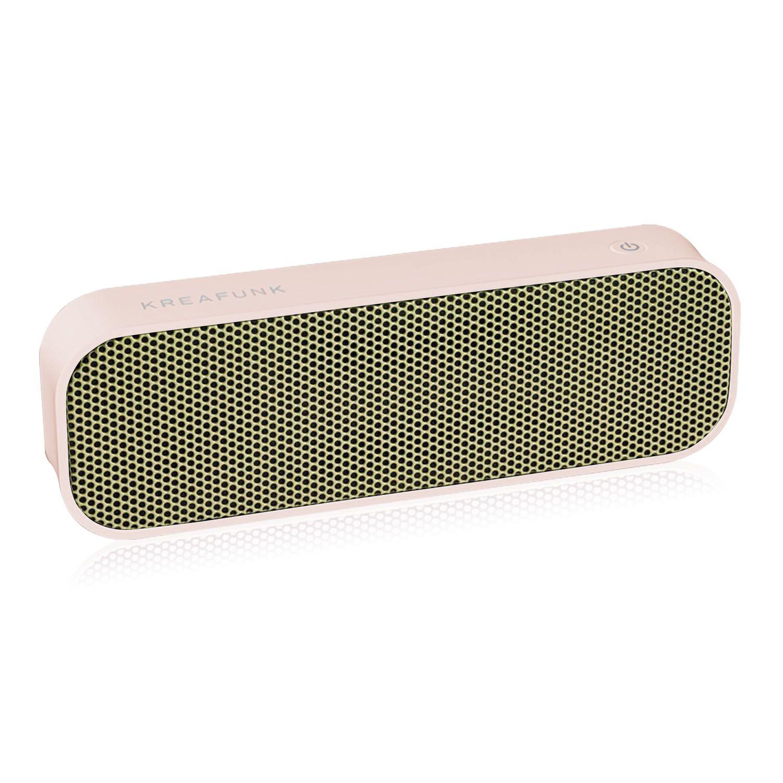Bluetooth speaker aGroove roze