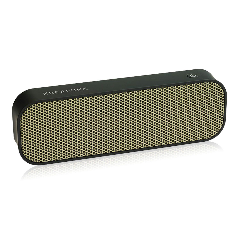 Bluetooth speaker aGroove zwart & goud