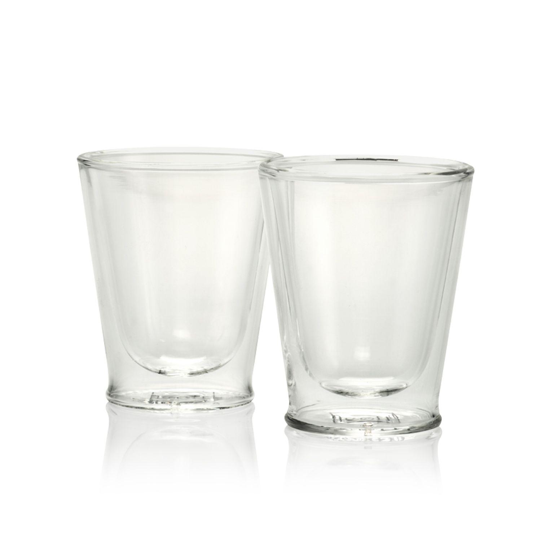 Espressoglas, set van 2