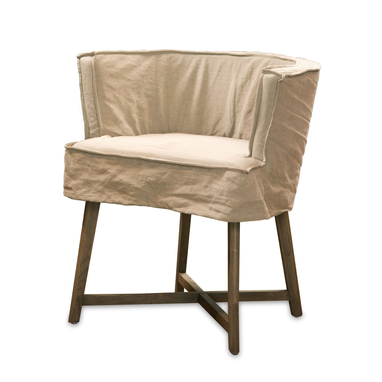 Leeff woodie stoel zand stoelen krukken leeff - Linnen stoel ...