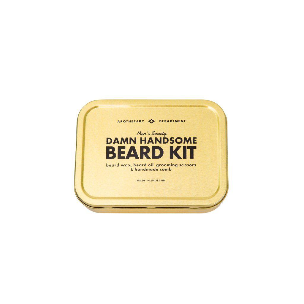 men 39 s society beard grooming kit merken leeff. Black Bedroom Furniture Sets. Home Design Ideas